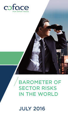 "Discover our new publication ""Barometer of sector risks in the world - July 2016"""