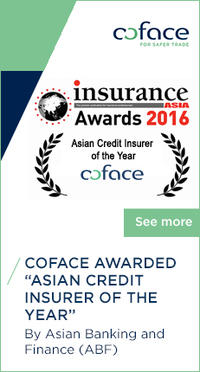 "Coface awarded ""Asian Credit Insurer of the Year"""